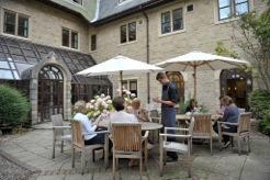Tea Room Courtyard 1